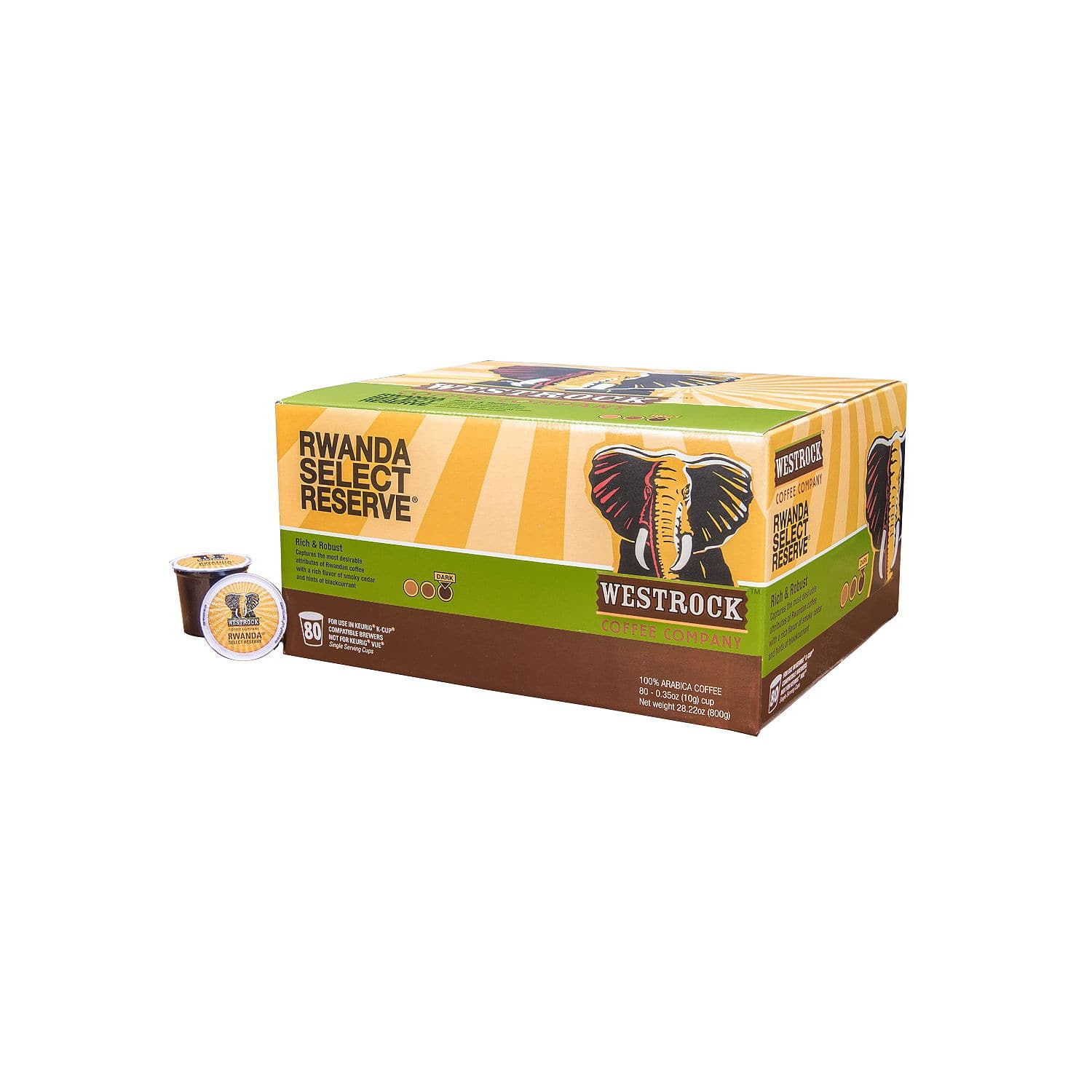 80-Count Westrock Coffee K-Cups (Rwanda Select Reserve, Meza Morning Blend, or East Africa Blend) for $22.98 + Free Shipping @ Sam's Club