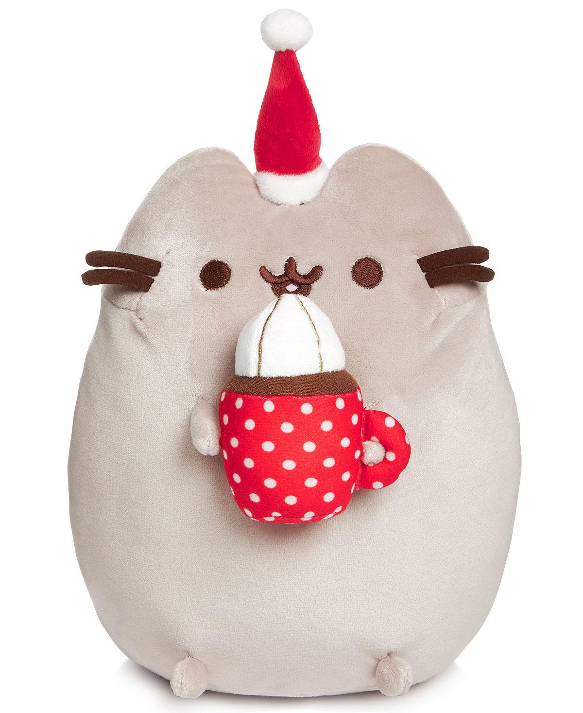 """GUND 10"""" Hot Cocoa Pusheen Plush $6.13 @ Macys.com"""