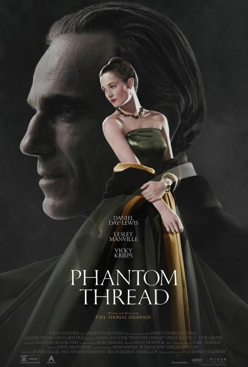 AMC Stubs Members: Get 2,000 Bonus Points When You See Phantom Thread from Jan 26-28 @ AMC Theatres