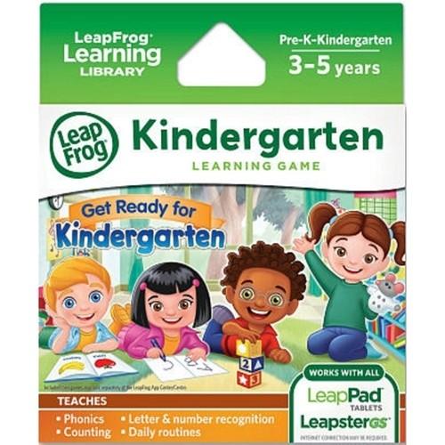 LeapFrog Learning Games: Get Ready for Kindergarten, Disney Frozen, & Disney: Octonauts (for LeapPad Ultra, LeapPad1, LeapPad2, Leapster Explorer, LeapsterGS Explorer) $1.99 each