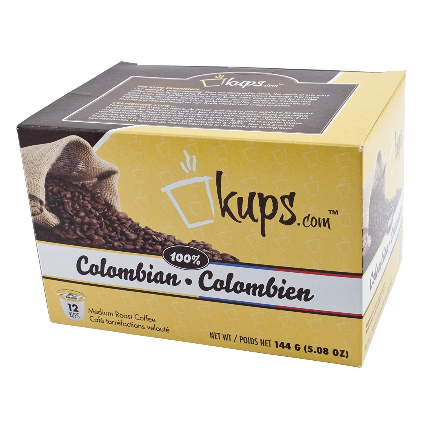 72-Count Danmar 100% Colombian Coffee K-Cups for $14.95