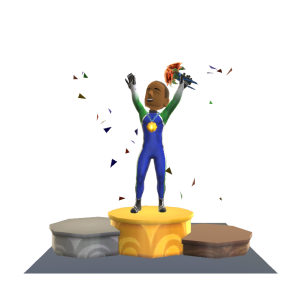 Gold Medal Ceremony Xbox Avatar Prop