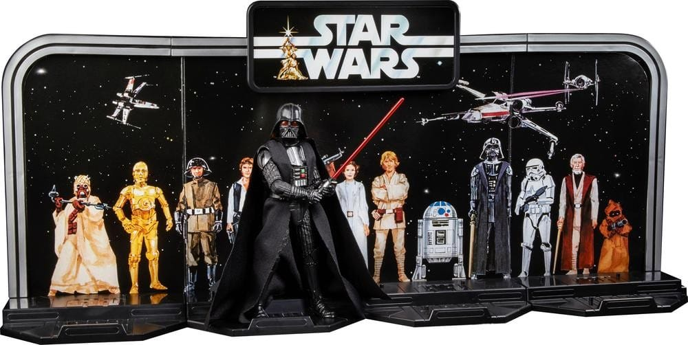 Hasbro Star Wars The Black Series 40th Anniversary Darth Vader for $9.99