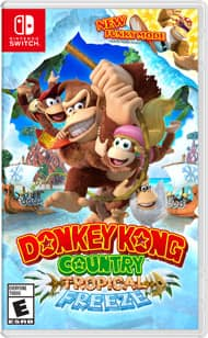 Find the letters K-O-N-G on Donkey Kong Country: Tropical Freeze (Nintendo Switch) website to earn 100 My Nintendo Platinum Points for Free
