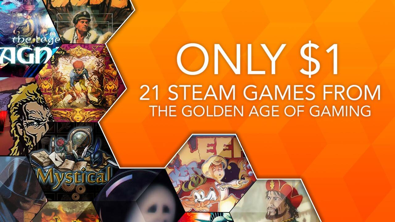 Fanatical: Dollar Classics Bundle (21 Retro-Style Indie Steam PC Games) for $1