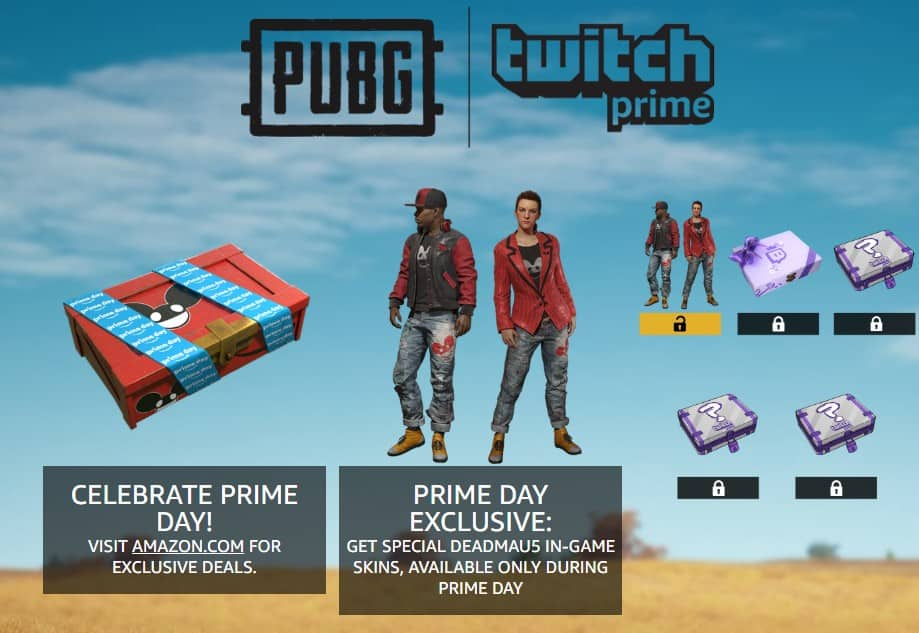 Twitch Prime Members: deadmau5 PUBG Crate for Playerunknown's Battlegrounds (PC) *Available until July 17