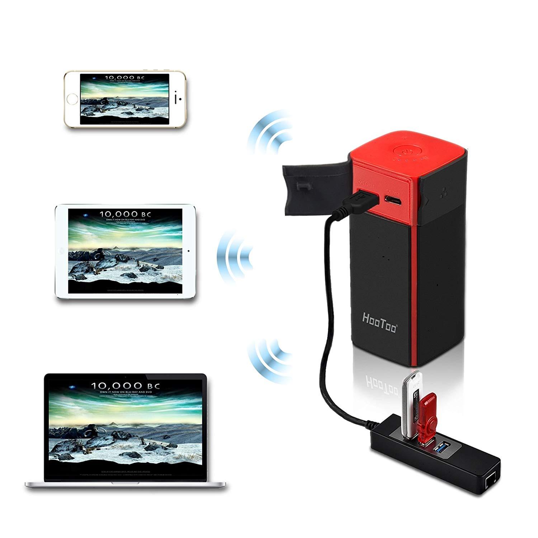 HooToo TripMate Titan Wireless Travel Router & 10400mAh