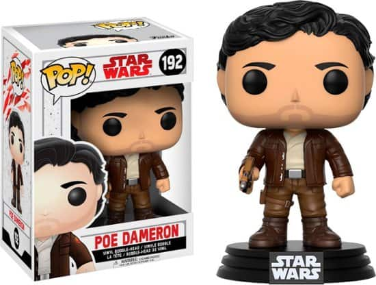 Star Wars Last Jedi Funko POP! Figures: Finn, Rose, & Poe $2.99 each & More