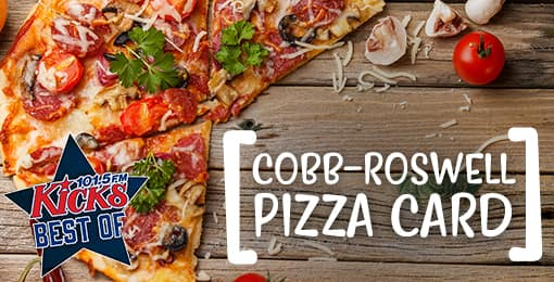 Atlanta: $3.99 for 11 Large 1-Topping Pizzas from 11 pizzerias ($154 Value) in Cobb-Roswell. $50 Voucher for $20 (Blaze Pizza, Marco's or Wild Slice) +$3.75 S&H