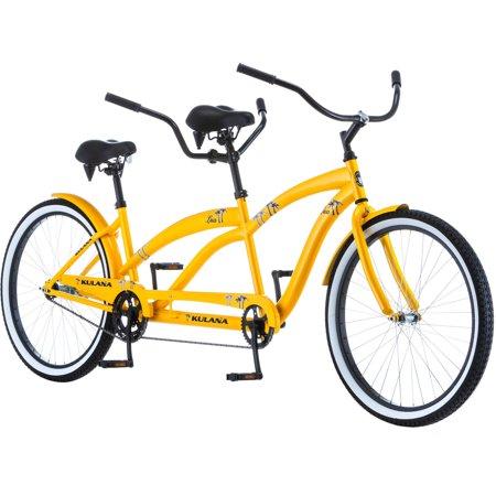 "Pacific Cycle 26"" Kulana Lua Tandem Beach Cruiser Bicycle for $199 + Free Shipping"