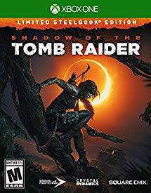 Shadow of the Tomb Raider: Limited Steelbook Edition (Xbox One) $29.99, Standard (Xbox One or PS4) $29.99, Croft Steelbook Edition (Xbox One or PS4) $49.99 + Free Shipping