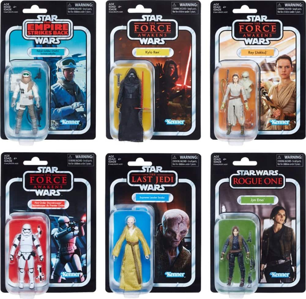 "Star Wars The Vintage Collection 3.75"" Figure (Styles May Vary) for $4.99"