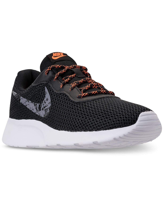 57d262a5250a8 Nike Men s Tanjun SE Casual Sneakers (Black Dark Grey)  33.75. Deal Image.  Deal Image