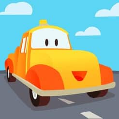 Free Mini Mango Android & iOS Apps: Tom the Tow Truck of Car City, Car City Preschool Puzzles, Car City Kids Coloring Book, & Troy Letters & Numbers Train