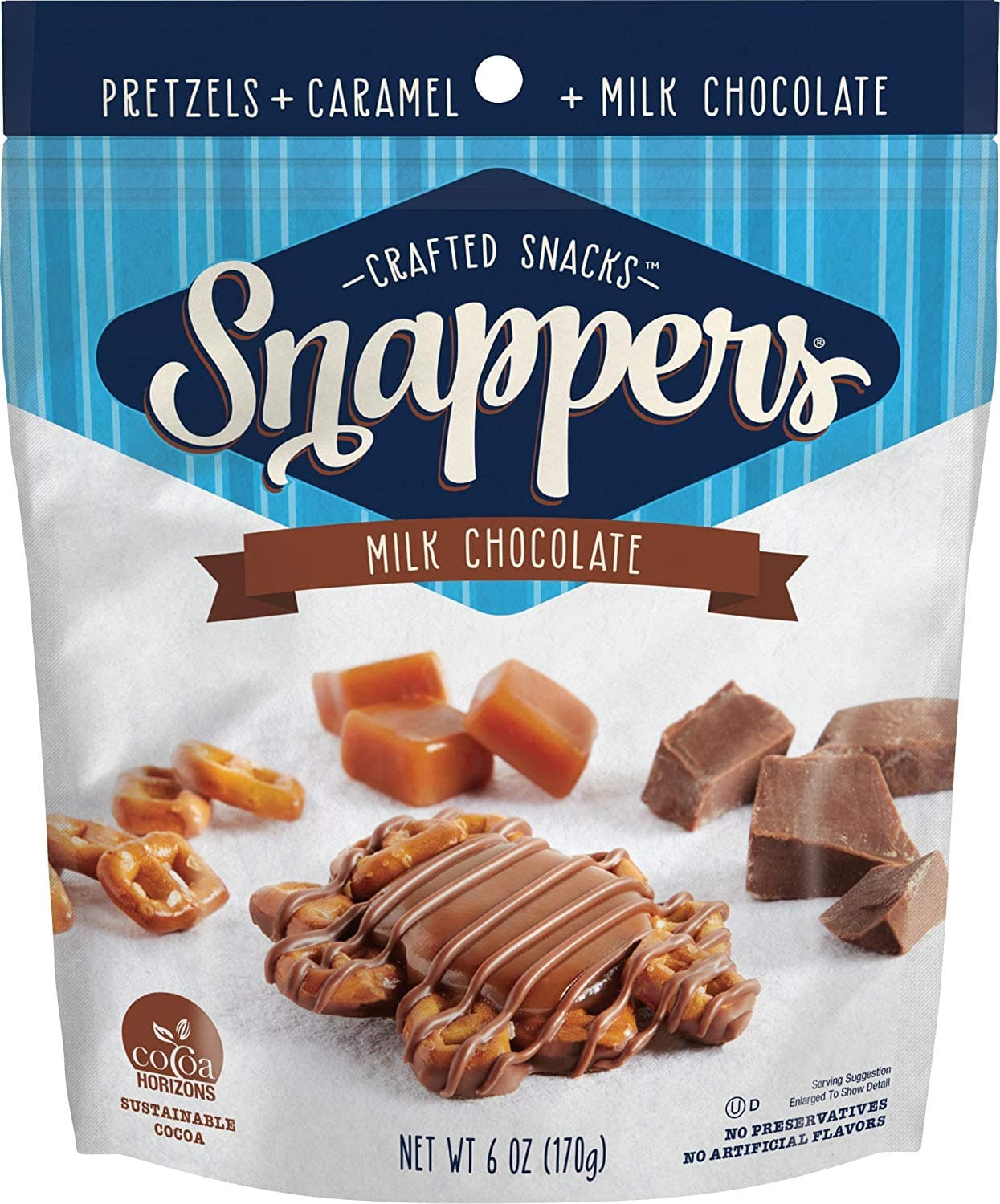 Target Cartwheel: 6oz Snappers Chocolate Pretzel Snacks for $1.99 + Free Store Pickup