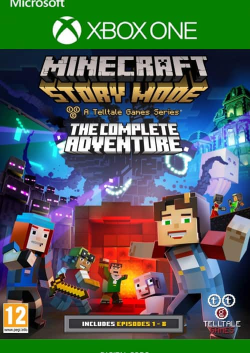 Minecraft Story Mode Complete Adventure (Xbox One Digital Download) $3.79. Important PSA - Download All Episodes Before June 25th (Minecraft Story Mode is Being Discontinued)