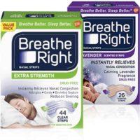 Free Breathe Right Nasal Strips Samples