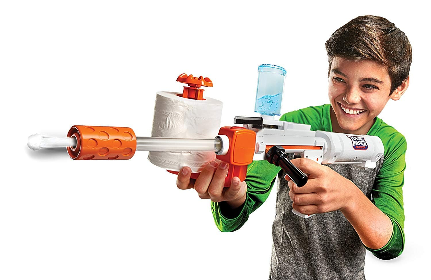 Jakks Pacific Toilet Paper Blaster Skid Shot for $10