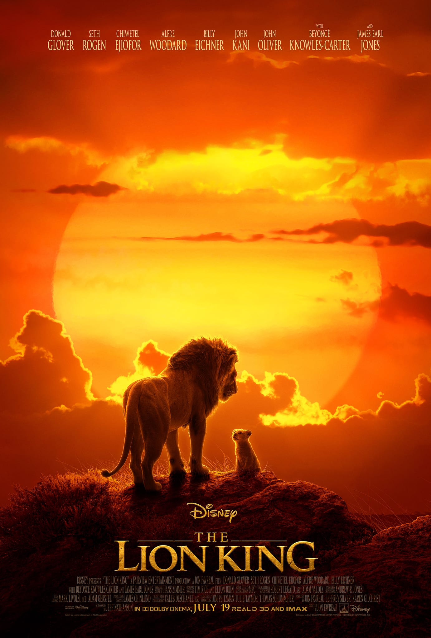 Free Movie Ticket for Disney's The Lion King ($10 Fandango Promo Code) w/ Purchase of 3 Big G Cereals at Kroger family stores