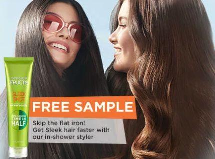 Free Garnier Fructis Sleek Shot Sample