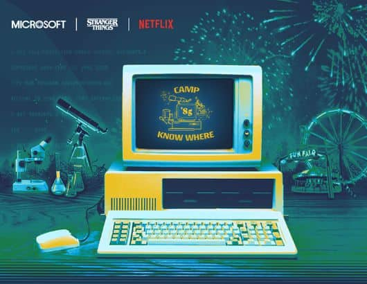 Stranger Things + Microsoft Store: Free Camp Know Where STEM Workshop (for Students K-12)