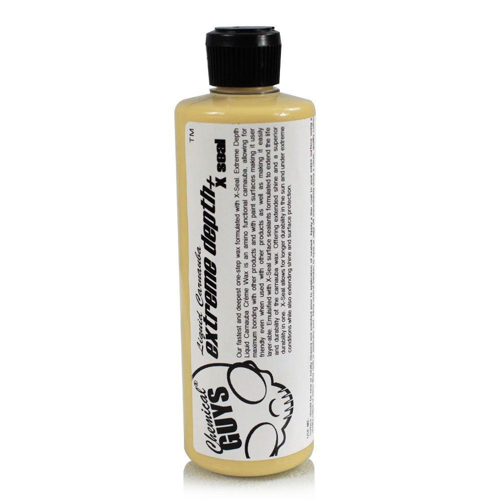 16oz Chemical Guys Extreme Depth Liquid Carnauba Creme Wax + X-Seal for $8.56 w/ S&S + Free Shipping