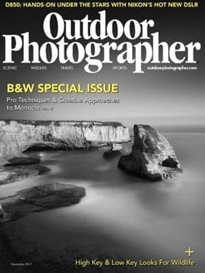 Free 1-Year Subscription to Outdoor Photographer Magazine