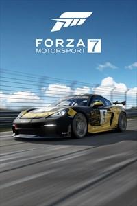 Free Forza Motorsport 7 2019 Porsche 718 Cayman GT4 Clubsport Xbox One DLC