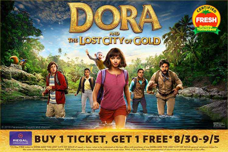 Buy One, Get One Free Dora And The Lost City Of Gold Movie