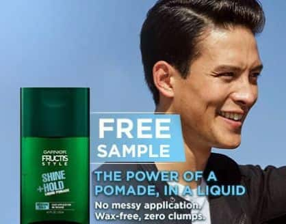 Free Sample of Garnier Fructis Liquid Style Pomade