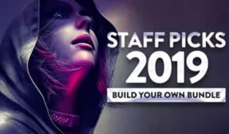 Staff Picks 2019 Pick-&-Mix Bundle (PC Digital Download): 1 Game $1, 3 Games $2.49, 5 Games $3.49. Republique, Call of Juarez, Beyond Eyes, The Town of Light, & More