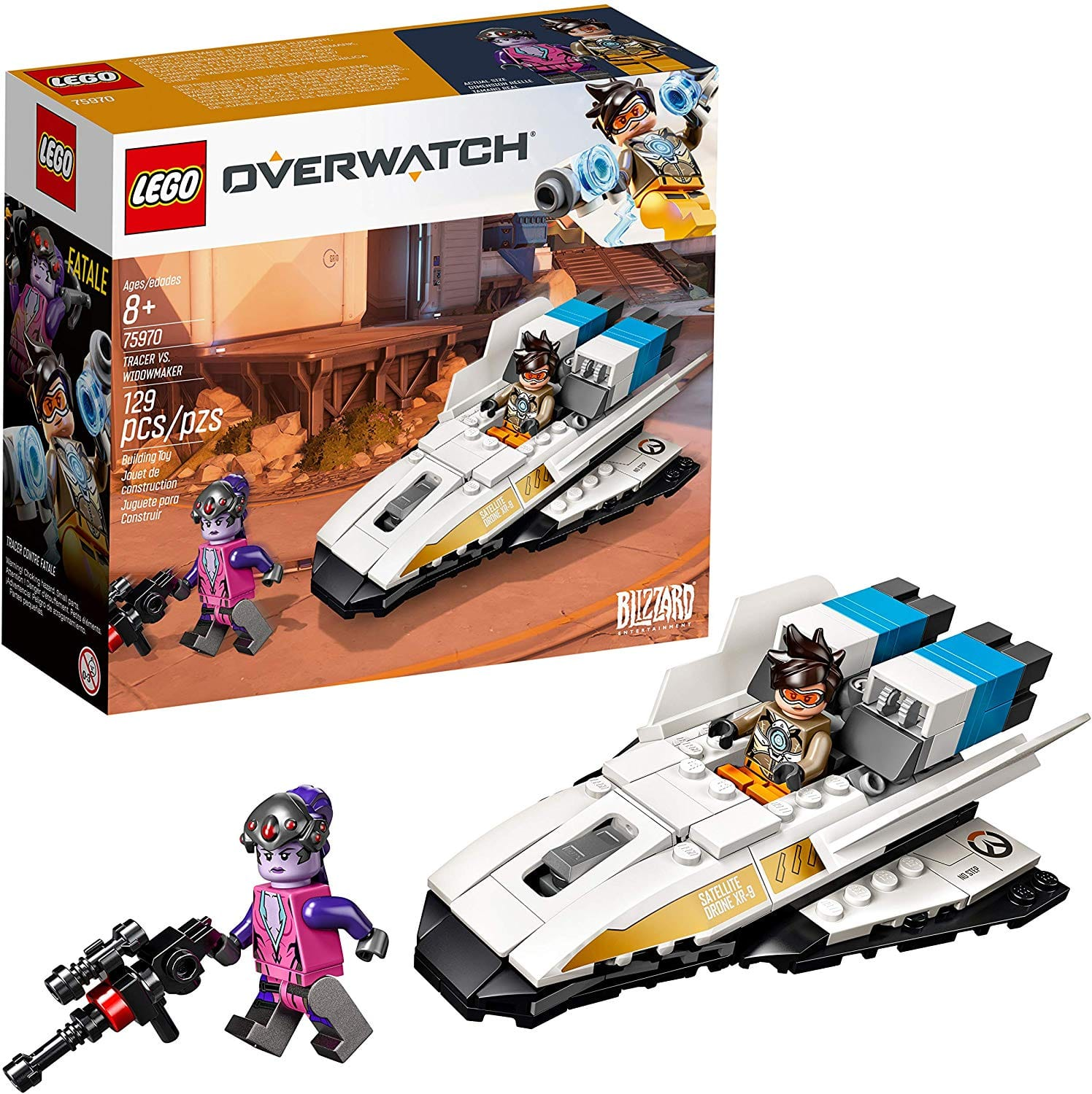 LEGO Overwatch Tracer & Widowmaker Building Kit (75970) for $8.99 & More
