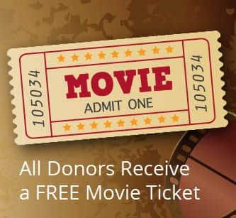 OneBlood: Donate Blood, Get 1 or 2 Free Movie Ticket Vouchers (Select Locations)