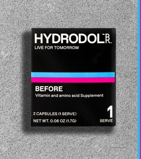 Free Hydrodol Hangover Relief Supplement