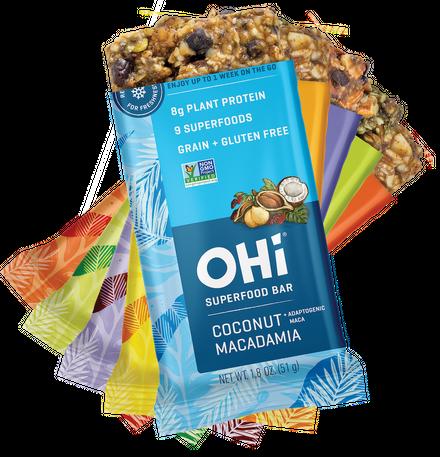 Free OHi Superfood Bar (Printable Coupon)