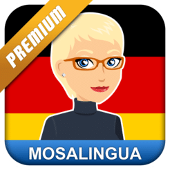 Learn German with MosaLingua Premium (Android App) for Free.