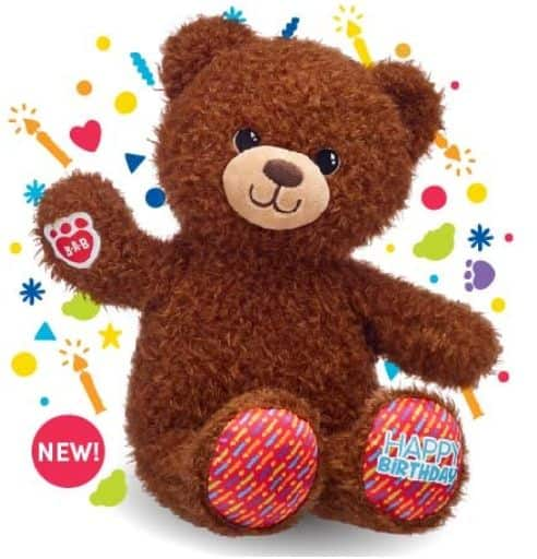 Build-A-Bear Workshop: Birthday Treat Bear - Pay Your Age (During Child's Birthday Month) *In-Store Offer