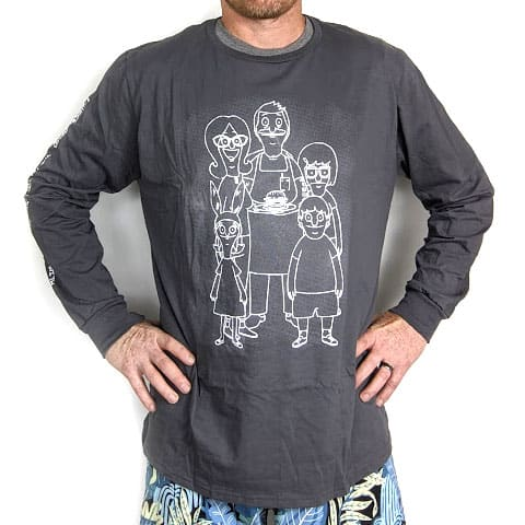Bob's Burgers Long Sleeve Tee (XL Size) for $6.49 + Free Shipping