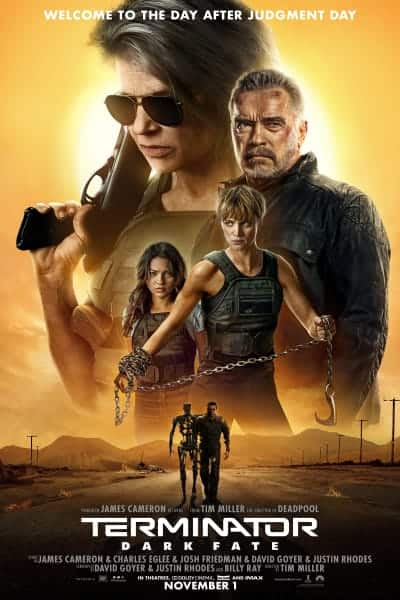 Select AMC Stubs Members: Earn Double Points for seeing Terminator: Dark Fate on 11/3. YMMV