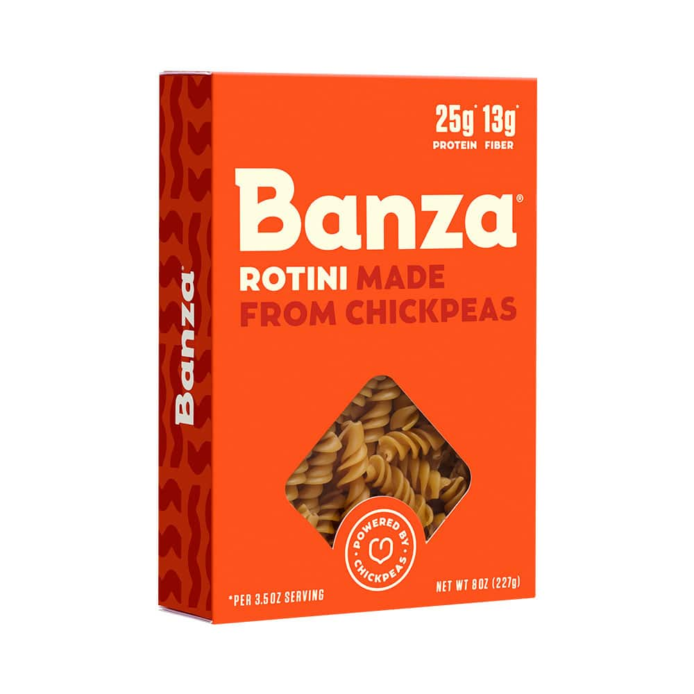 Free Box of Banza Chickpea Pasta (mailed coupon)