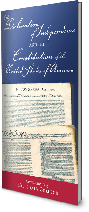 Free Pocket-Sized U.S. Constitution & Declaration of Independence