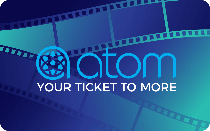 Atom Tickets Gift Offer: Buy $25, Get $5 Promo Credit. Buy $50, Get $10 Promo Credit