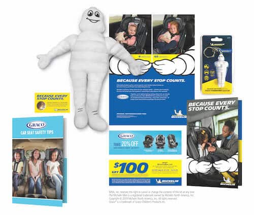 Free Welcome Baby Kit from Michelin