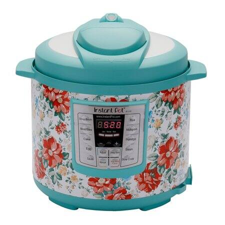 The Pioneer Woman Instant Pot LUX60 6-Quart Vintage Floral 6-in-1 Multi-Use Programmable Pressure Cooker, Slow Cooker, Rice Cooker, Sauté, Steamer, & Warmer $49 + Free Shipping