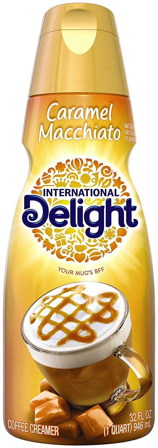 Amazon Fresh: 32oz International Delight Caramel Non-Dairy Creamer (Caramel Macchiato or French Vanilla) for $0.25