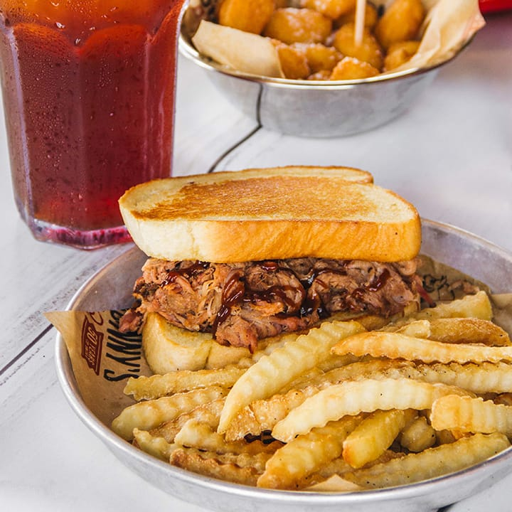 Sonny's BBQ: Free Pork Big Deal Combo for Law Enforcement (w/ valid ID/badge) on Janurary 9, 2020