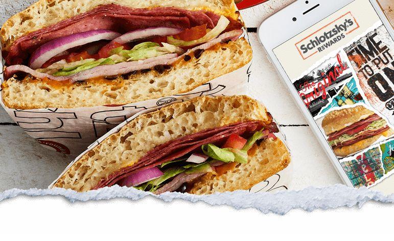 Schlotzsky's: Free Small Classic Sandwich when you sign up for Schlotzsky's Rewards
