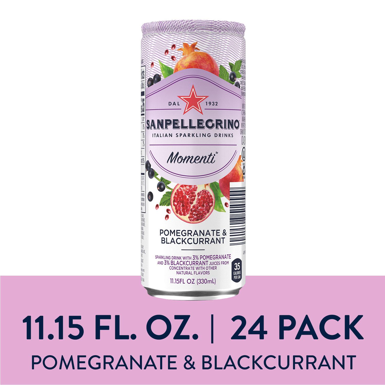 24-Ct 11.5oz Sanpellegrino Momenti Pomegranate & Blackcurrant Sparkling Drinks for $7.20