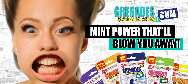 Free Sample of Grenades Gum