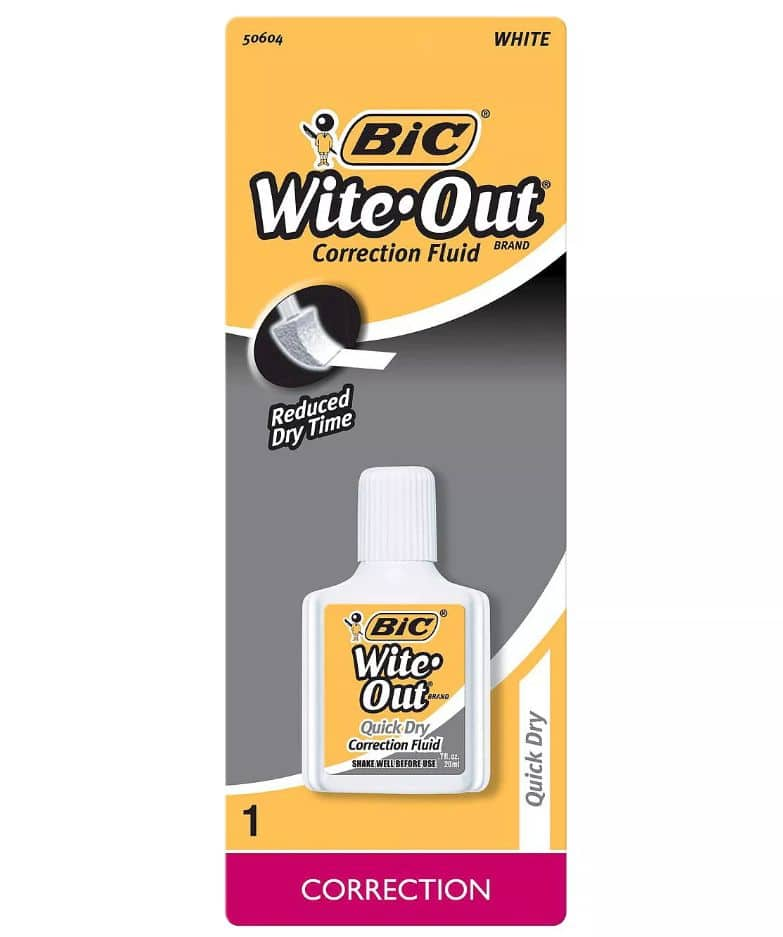 Target Circle (In-Store Offer): $1 off BIC Writing Supplies (possibly free BIC Wite-Out)